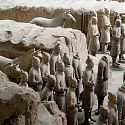The Army of Terracotta Warriors, Xi'an, China.