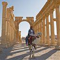 Herod's Gate, Palmyra, Syria.