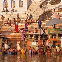 Life on the Ganges, Varanasi, India.