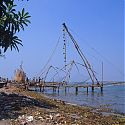 Chinese Fishing Nets, Cochin, India.