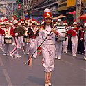 Marching Band, Chiang Mai, Thailand.