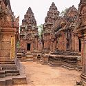 Banteay Srei, The Temples of Angkor, Cambodia.