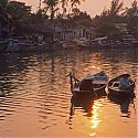 Sunset, Hoi An, Vietnam.