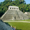 Temple of Inscriptions, Palenque (AD 600-700), Mexico.