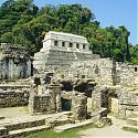 The Palace, Palenque (AD 600-700), Mexico.